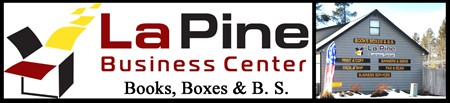 Books, Boxes and B. S. (business services), La Pine OR